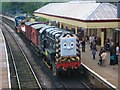 SD7916 : Thomas the Tank engine event at Ramsbottom Station by Paul Anderson