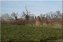 TQ6127 : Oast at Rolf's Farm, Witherenden Road, Mayfield, East Sussex by Oast House Archive