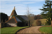 TQ6226 : Oast House at Hare Holt, Witherenden Road, Mayfield, East Sussex by Oast House Archive
