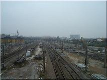 TQ2182 : West Coast Main Line, Willesden Junction by Stacey Harris