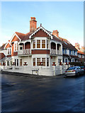 TQ3303 : Edwardian House, De Courcel Road by Simon Carey