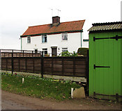 TG2834 : Cottages on Brewery Road by Evelyn Simak