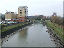 TM1543 : River Gipping by Keith Evans
