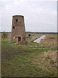 TG3504 : Buckenham Ferry drainage mill by Hugh Venables