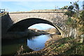 NO3648 : Disused railway bridge over Dean water by Dan
