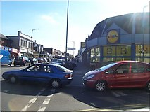 SZ0893 : Bournemouth : Winton Lidl by Lewis Clarke