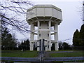 TM0961 : Middlewood Green Water Tower by Geographer