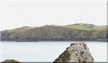 SH4094 : Cliffs on  the east side of Porth Wen Bay by Eric Jones