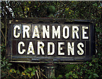J3271 : Street sign, Cranmore Gardens by Rossographer