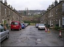 SE1039 : Harold Street - Keighley Road by Betty Longbottom