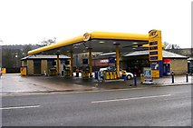 SE1039 : Jet Petrol Filling Station - Keighley Road by Betty Longbottom