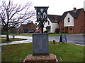 TM2055 : Otley Village Sign by Adrian Cable
