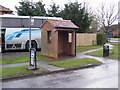 TM2055 : Otley Bus Shelter by Geographer