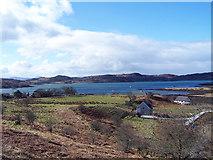 NM6586 : Arisaig Bay by Frank Garvock