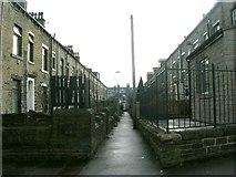 SE0824 : Mayfield Terrace South - King Cross Street by Betty Longbottom