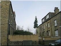 SE0824 : Back Hawthorn Terrace - Hyde Park Road by Betty Longbottom