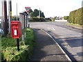 SY9695 : Corfe Mullen: postbox № BH16 161, Rushall Lane by Chris Downer