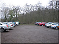 TG3406 : Strumpshaw Fen car park by Hugh Venables