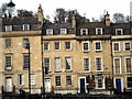 ST7565 : Georgian terraced houses in London Road Bath by Sarah Smith