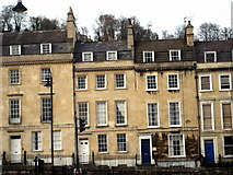 ST7565 : Georgian terraced houses in London Road Bath by Sarah Smith
