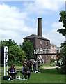 SP3684 : The Engine House at Hawkesbury Junction, Warwickshire by Roger  Kidd