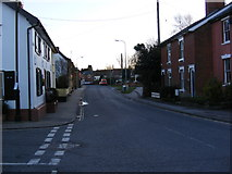 TM2863 : B1116 Station Road, Framlingham by Adrian Cable