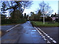 TM2954 : Crossroads in The Street, Pettistree by Adrian Cable