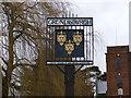 TM2251 : Grundisburgh Village Sign by Geographer
