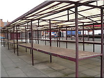 SK4933 : Abandoned Market at Long Eaton by Andy Jamieson