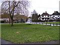 TM2250 : Village Green & Meeting Lane, Grundisburgh by Geographer