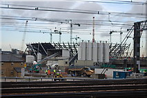TQ3783 : Building the 2012 Olympic Stadium (2) by N Chadwick