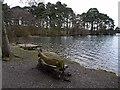 NY5458 : Sedge Bay, Talkin Tarn by Oliver Dixon