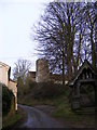 TM2148 : St.Mary's Church & Lych gate, Playford by Adrian Cable