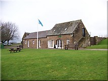 NY0265 : Historic Scotland's Visitor Centre at Caerlaverock Castle by Elliott Simpson