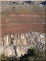 SP5196 : Geology at Croft Quarry by Alan Murray-Rust