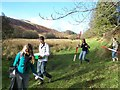 SS7738 : Exmoor : Geography Students by Lewis Clarke