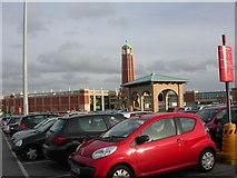 SJ7796 : Trafford Centre, car park by Mike Faherty