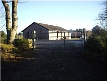 NJ6102 : Trades entrance to Torphins Golf Club by Stanley Howe