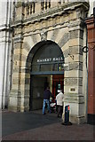 SO5140 : Market Hall entrance, Hereford by Philip Halling
