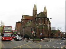 TQ3266 : Church of St Michael and All Angels with St James, Poplar Walk, West Croydon by Dr Neil Clifton