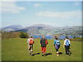 NY3700 : Walkers at High Wray by Stephen Craven