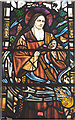 SJ2988 : St Therese of Lisieux - stained glass window detail ... by Zorba the Geek