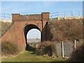 TQ9051 : Farm access under railway embankment by Stephen Craven