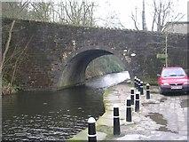 SD9827 : Hebble End Bridge No 18 - Rochdale Canal by Betty Longbottom