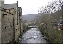 SD9827 : River Calder - Hebble End by Betty Longbottom