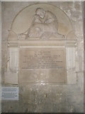 SU8504 : Memorial on the south wall of Chichester Cathedral by Basher Eyre
