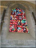 SU8504 : The Chagall Window on the south wall at Chichester Cathedral by Basher Eyre