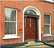 J3272 : Door and windows, Belfast by Albert Bridge