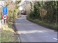 TM4287 : Church Lane, Weston by Adrian Cable