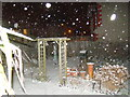 TQ4388 : Snow in my back garden by Robert Lamb